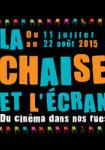 La chaise et l'écran 2015