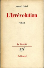 L'irrévolution