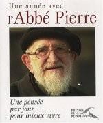 Une année avec l'Abbé Pierre