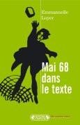 Mai 68 dans le texte