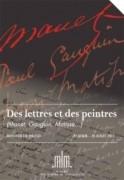 Des lettres et des peintres