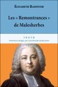 """Les """"Remontrances"""" de Malesherbes"""