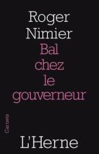 Bal chez le gouverneur