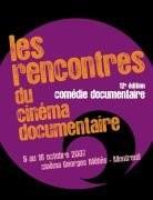Les Rencontres du cinéma documentaire 2007