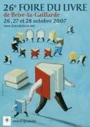 Foire du livre de Brive 2007