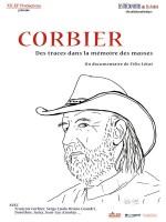 Corbier, des traces dans la mémoire des masses - Affiche