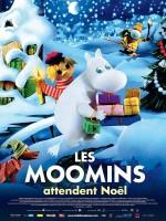 Les Moomins attendent Noël - Affiche