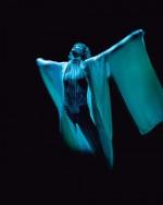 Sylvie Guillem dans le ballet Eonnagata au Sadler's Wells Theatre a Londres