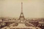 La première inauguration de la tour Eiffel