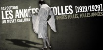 EXPOSITION LES ANNEES FOLLES (1919-1929) AU MUSEE GALLIERA