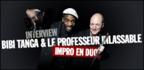INTERVIEW BIBI TANGA ET LE PROFESSEUR INLASSABLE