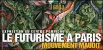 EXPOSITION 'LE FUTURISME A PARIS' AU CENTRE POMPIDOU