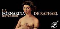 JUSTE UN DETAIL : LA FORNARINA DE RAPHAEL
