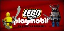 LEGO CONTRE PLAYMOBIL