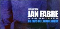 EXPOSITION JAN FABRE A LA GALERIE DANIEL TEMPLON