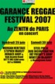 Garance Reggae Festival  2007