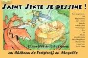 Saint Sixte se dessine