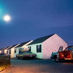 Joel Meyerowitz, Red Interior, Cape Cod, 1976