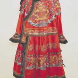Les Fils du Ciel - Robe rouge sacrificielle de l'empereur Jiaqing