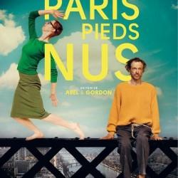 Paris pieds nus - Affiche