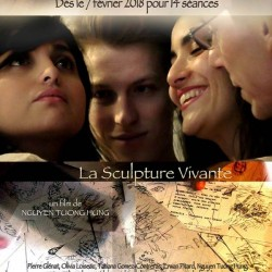 La Sculpture vivante - Affiche