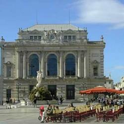 Opéra de Montpellier. Facade de l'opéra