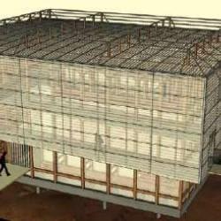 Vue en 3D du musée du cristal