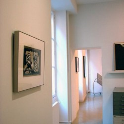 Galerie Catherine Putman - exposition A. Saura