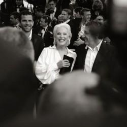Bernadette Lafont et Alain Chabat, Cannes 2007