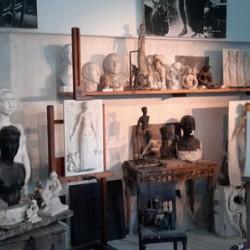 L'atelier de Paul Belmondo reconstitué