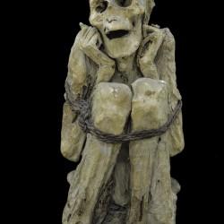 Momie péruvienne époque indéterminee, Vallée de l'Utcubamba - Musée de l'homme