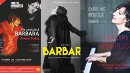 Barbara, les spectacles hommages à l'affiche