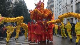 Sortir pour le Nouvel An Chinois