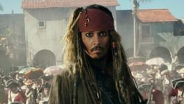 """Johnny Depp dans """"Pirates des Caraïbes 5 : la vengeance de Salazar"""""""