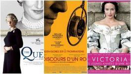 Les films sur les rois et reines d'Angleterre