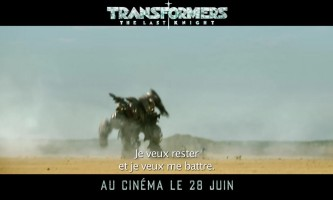Transformers the last knight - bande annonce VOST