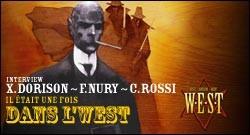 INTERVIEW DE X. DORISON, F. NURY et C. ROSSI