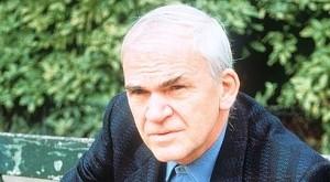 Milan Kundera, lauréat du prix de la BNF