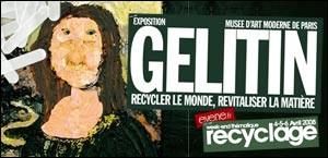 EXPOSITION GELITIN AU MUSEE D'ART MODERNE DE PARIS