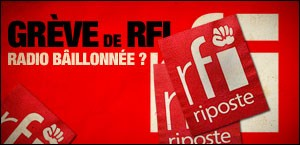GREVE DE RADIO FRANCE INTERNATIONALE