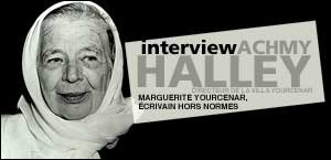 INTERVIEW D'ACHMY HALLEY – DIRECTEUR DE LA VILLA YOURCENAR