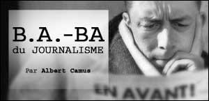 B.A.-BA DU JOURNALISME