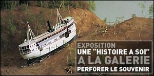 EXPOSITION UNE 'HISTOIRE A SOI' A LA GALERIE
