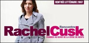 RENCONTRE AVEC RACHEL CUSK