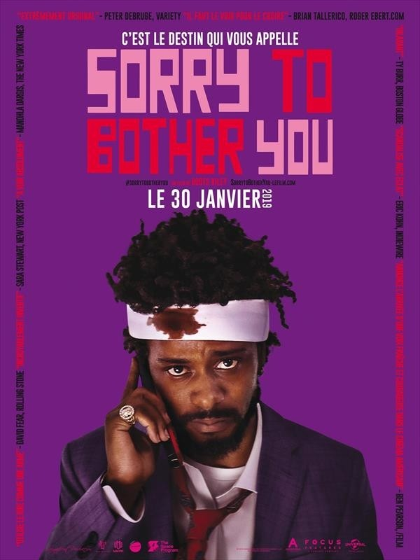 Sorry to Bother You - Affiche