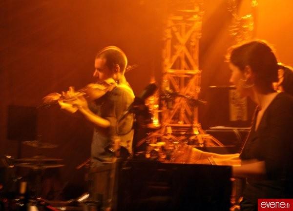 Sam au violon