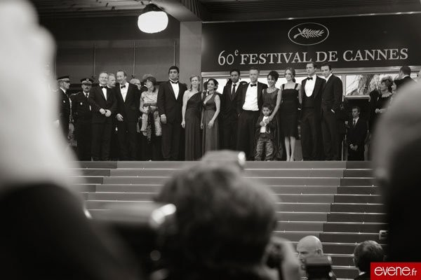 L'équipe du film 'A Mighty Heart', Cannes 2007