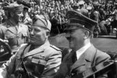 Hitler-Mussolini, Assassinés, Bordeaux-Vintimille : l'Histoire avec une grande hache ou un couteau