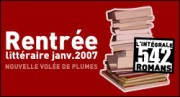 RENTREE LITTERAIRE JANVIER 2007