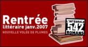 RENTREE LITTERAIRE JANVIER 2007